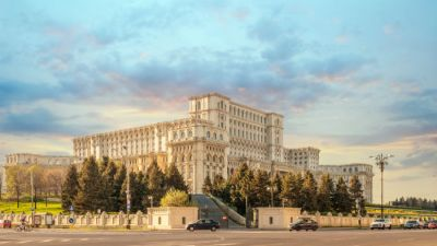 Parliamentary-buildings-Sunrise-over-the-Palace-of-Parliament-in-Bucharest-Romania.jpg